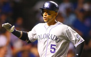 Carlos Gonzalez is a leader for the Rockies when healthy, but how much longer will they keep him around? (USATSI)