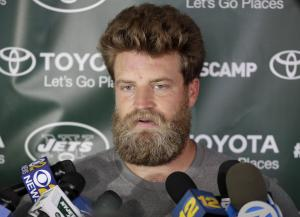 Ryan Fitzpatrick already has the hair most cavemen dream of having. But does he have the arm to carry the Jets to the playoffs for the first time since 2008? (Associated Press/Julio Cortez)